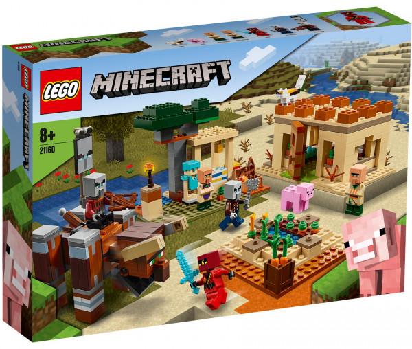 21160 LEGO® Minecraft™ Der Illager-Überfall