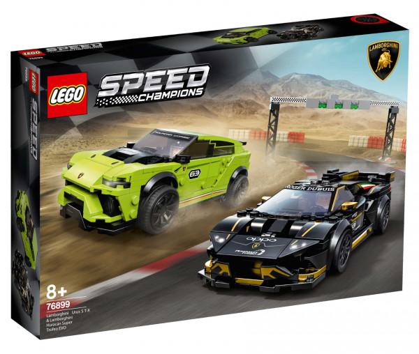 76899 LEGO® Technic Lamborghini Urus ST-X & Lamborghini Huracán Super Trofeo EVO