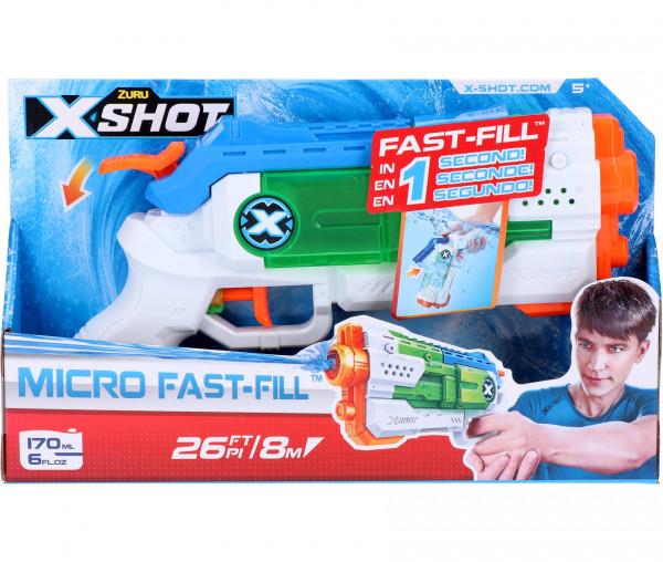 Zuru X-SHOT Wasserpistole Micro Fast-Fill 170 ml