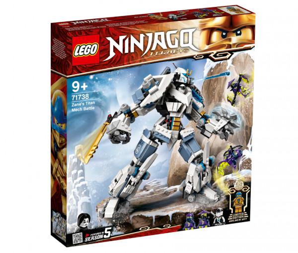 71738 LEGO® NINJAGO® Zanes Titan-Mech