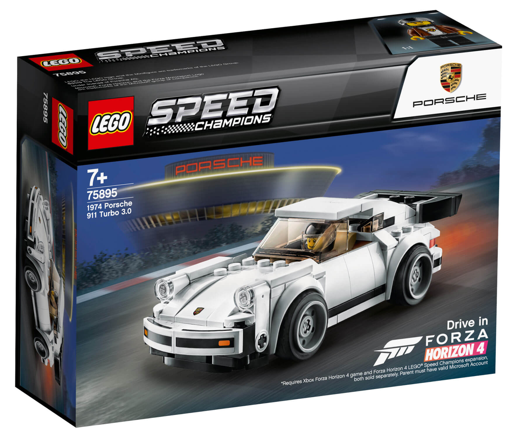 75895 Lego Speed Champions 1974 Porsche 911 Turbo 3 0