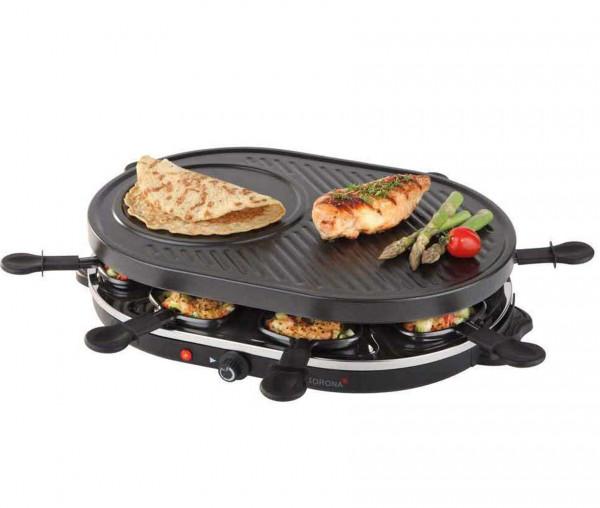 Korona 45000 - Raclette Grill für 8 Personen
