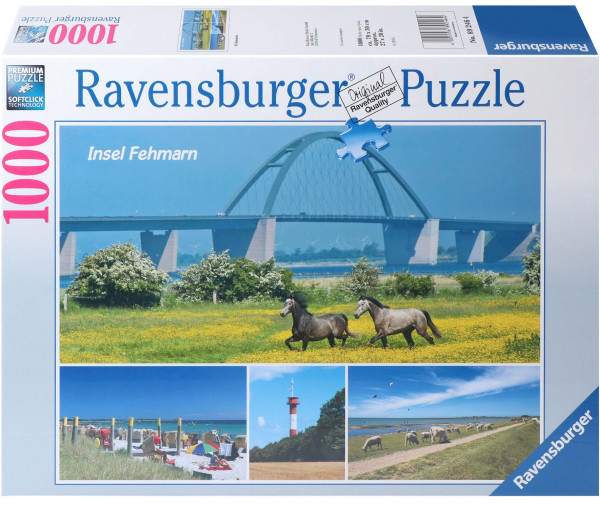 Ravensburger Puzzle 1000 Teile - Insel Fehmarn