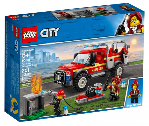 60231 LEGO® City Feuerwehr-Einsatzleitung