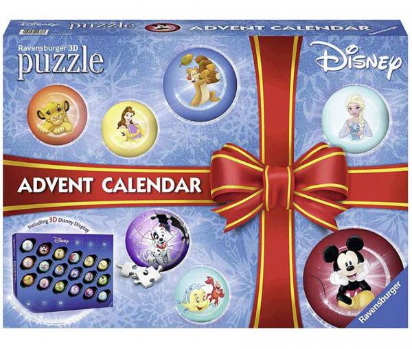 Ravensburger Adventskalender Disney 3D Puzzle