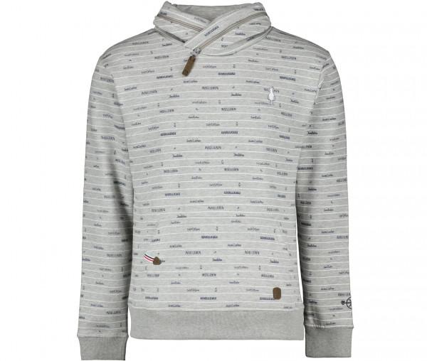 InselLeben Herren Sweatshirt Reiner Logo-Print