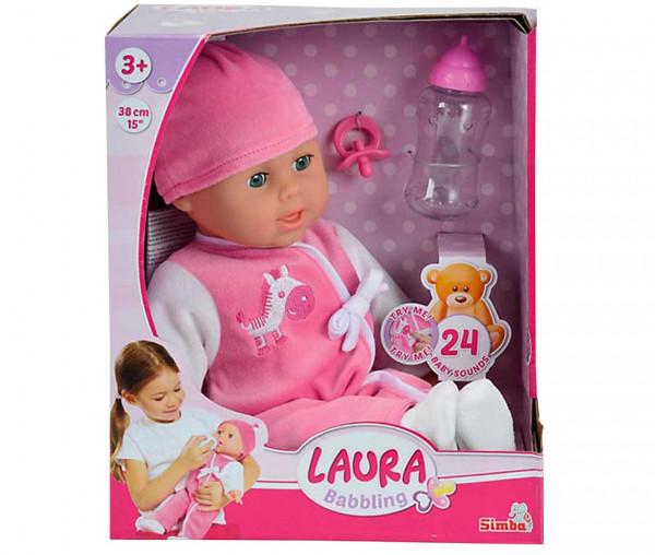 Simba Puppe LAURA Cutie 38 cm