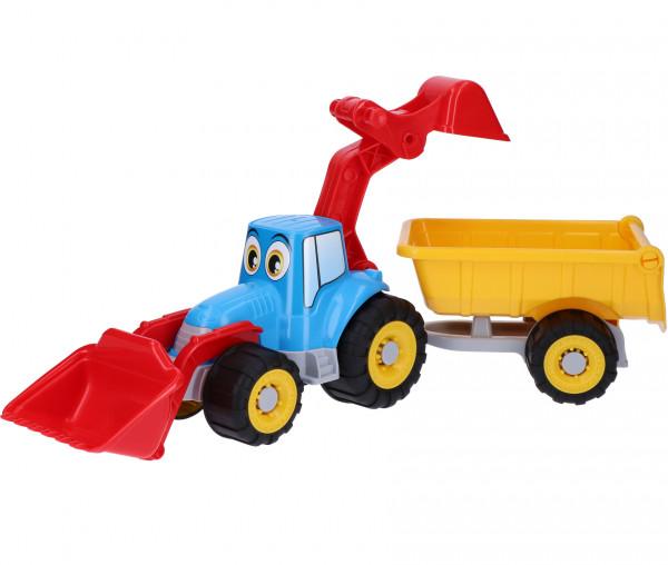Simba Traktor mit Anhänger