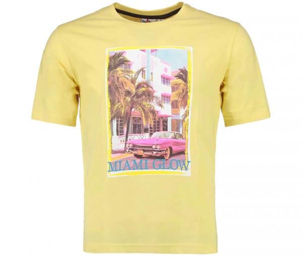 Tony Brown Herren T-Shirt Miami Glow