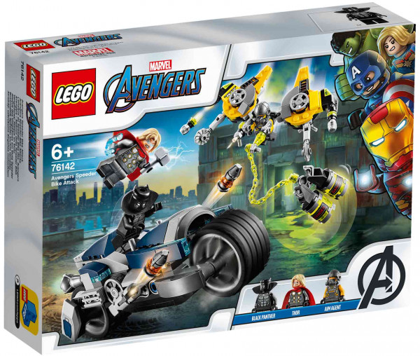 76142 LEGO® Marvel Super Heroes Avengers Speeder-Bike Attacke