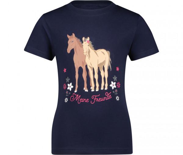 Emma Brown Mädchen T-Shirt Meine Freunde