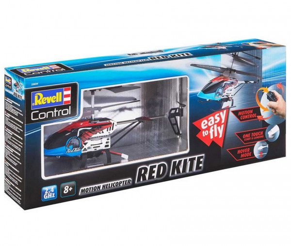 Revell Control Motion Helikopter Red Kite