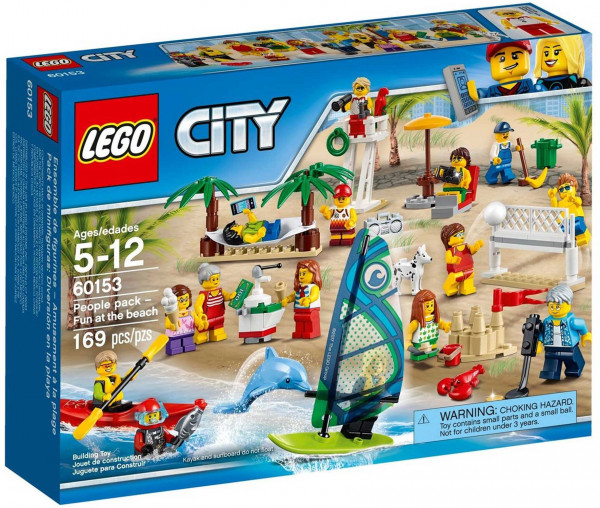 60153 LEGO® City Stadtbewohner - Ein Tag am Strand