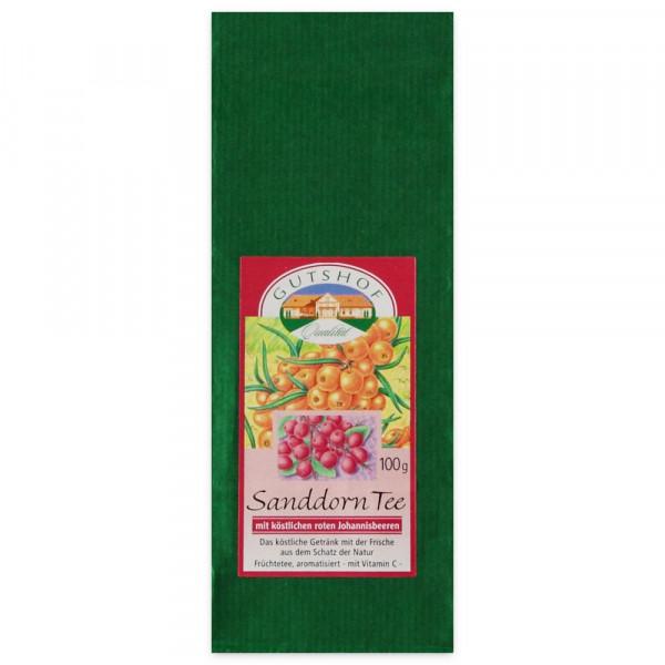 Avita Sanddorn Tee mit köstlichen roten Johannisbeeren
