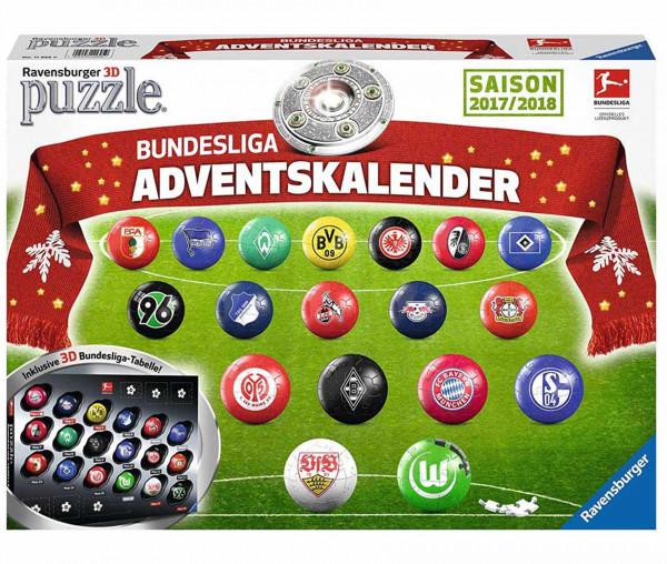 Ravensburger 3D Bundesliga Adventskalender Puzzle