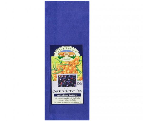 Avita Sanddorn Tee mit fruchtigen Blaubeeren