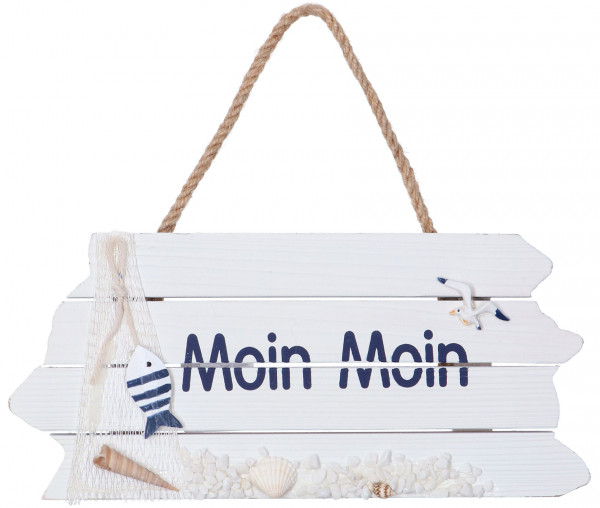 Holzschild Moin Moin