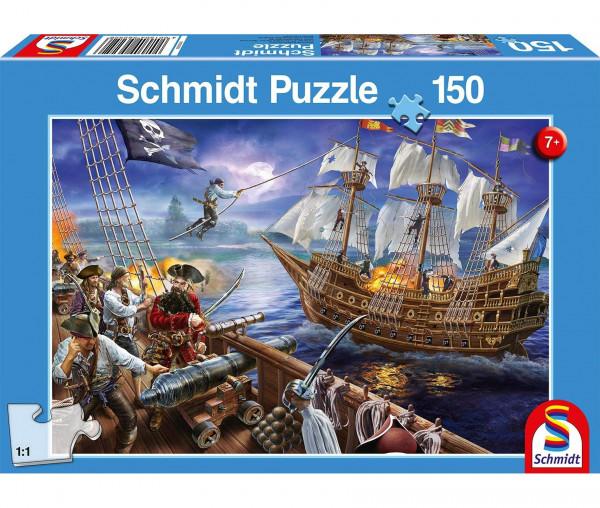 Schmidt Puzzle Abenteuer mit den Piraten