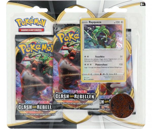 Pokémon Schwert & Schild 3er Boosterpack Clash der Rebellen