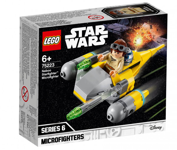 75223 LEGO® Star Wars™ Naboo Starfighter™ Microfighter
