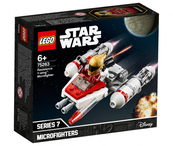 75263 LEGO® Star Wars™ Widerstands Y-Wing™ Microfighter