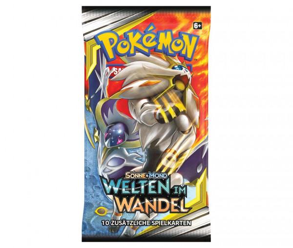 Pokémon Sonne & Mond Boosterpack Welten im Wandel
