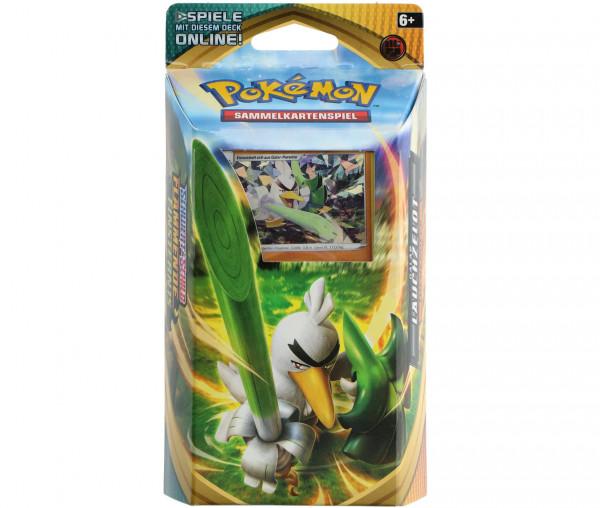 Pokémon Schwert & Schild Themendeck Lauchzelot
