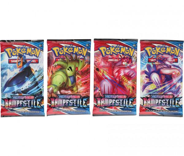 Pokémon SWSH05 Schwert und Schild Booster Kampfstile