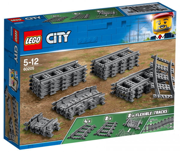 60205 LEGO® City Schienen