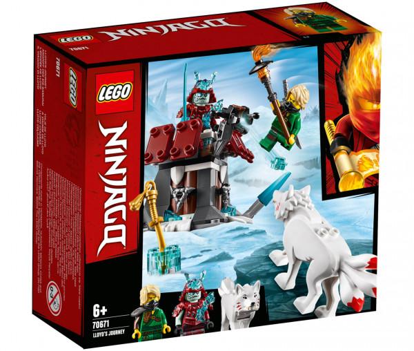70671 LEGO® NINJAGO® Angriff des Eis-Samurai