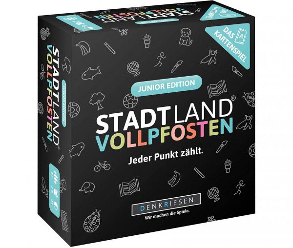STADT LAND VOLLPFOSTEN® Das Kartenspiel - Junior Edition - Jeder Punkt zählt.
