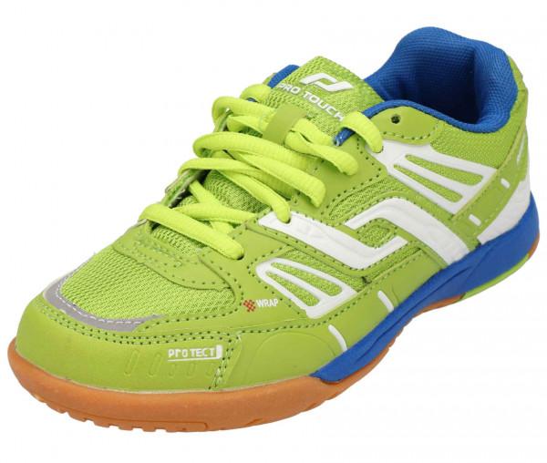 Pro Touch Kinder Indoor Schuh REBEL II gelb/blau
