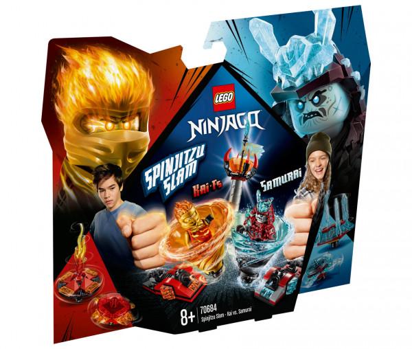 70684 LEGO® NINJAGO® Spinjitzu Slam – Kai vs. Eis-Samurai
