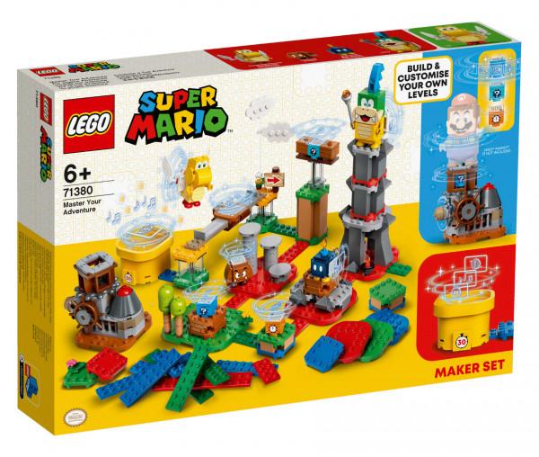 71380 LEGO® Super Mario™ Baumeister-Set für eigene Abenteuer