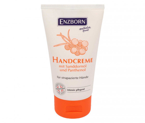 Enzborn Handcreme mit Sanddornöl