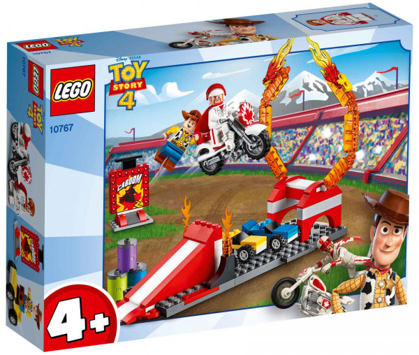 10767 LEGO® 4+ Toy Story 4 Duke Cabooms Stunt Show