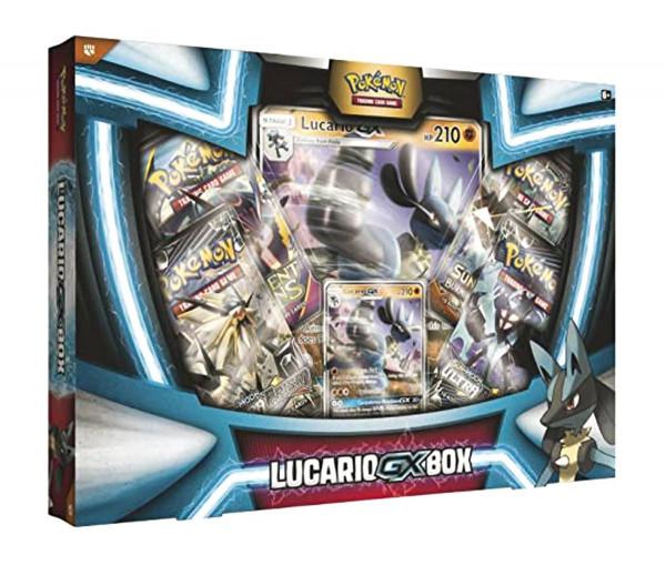 Pokémon Lucario-GX Box Sammelkarten