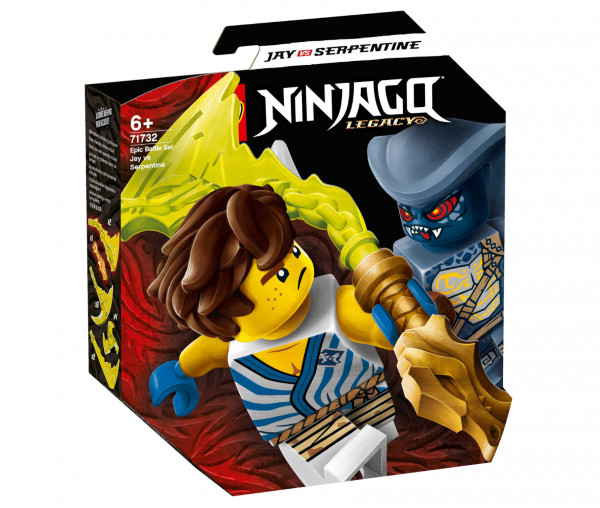 71732 LEGO® NINJAGO® Battle Set: Jay vs. Serpentine