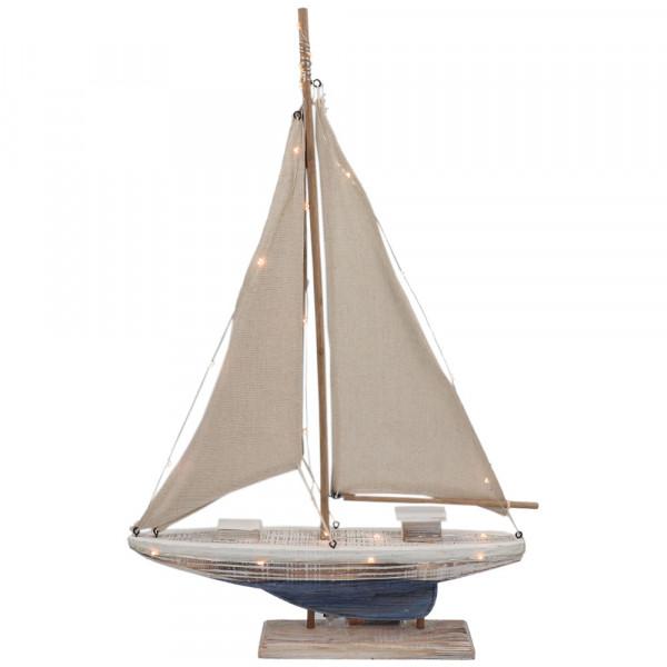 Tony Brown Deko-Segelschiff mit LED-Beleuchtung
