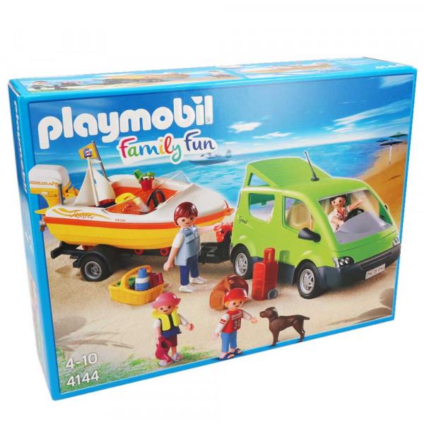 Playmobil 4144 - Familienvan mit Bootsanhänger