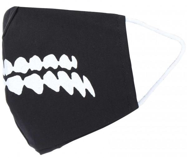 Textil Maske Zähne