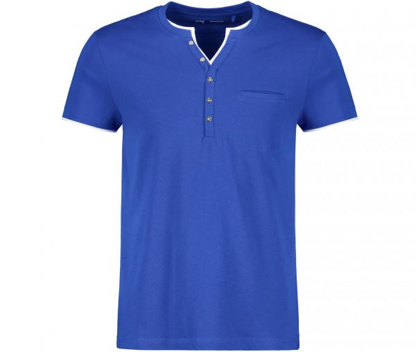 Tony Brown Herren Henley T-Shirt