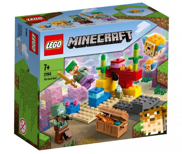 21164 LEGO® Minecraft™ Das Korallenriff