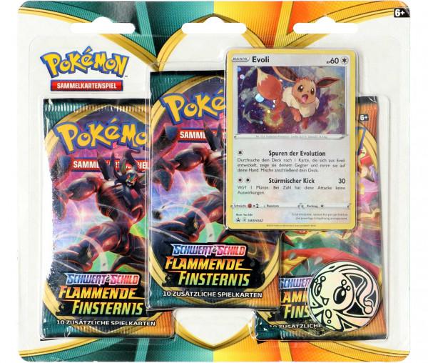 Pokémon Schwert & Schild 3-Pack Blister