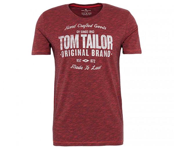 Tom Tailor Herren T-Shirt mit Print