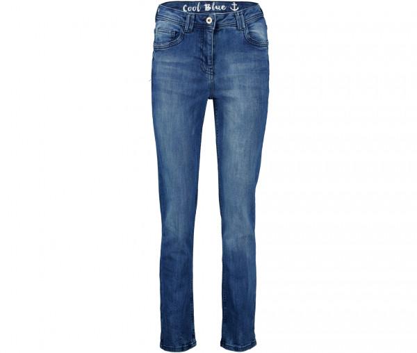 Julia Brown Damen Jeans Cool Blue
