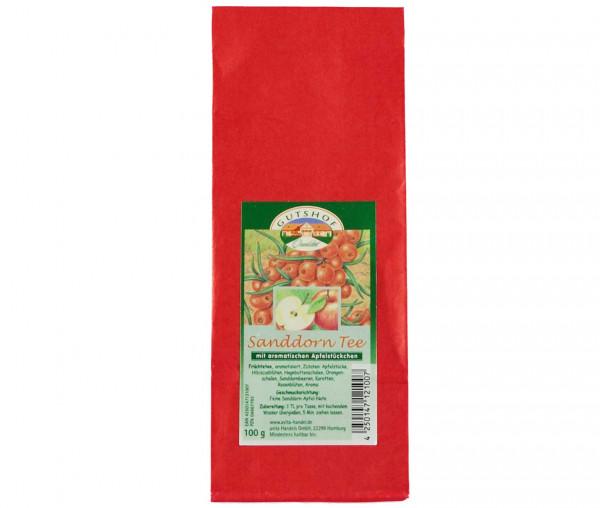 Avita Sanddorn Tee mit aromatischen Apfelstückchen