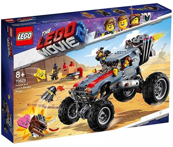 70829 THE LEGO® MOVIE 2™ Emmets und Lucys Flucht-Buggy!