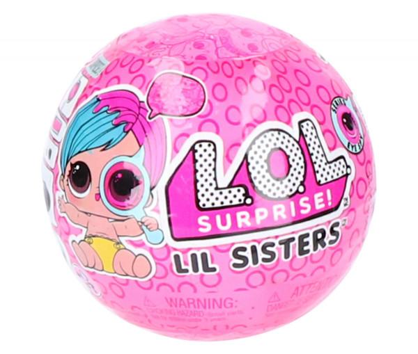 L.O.L. Surprise Lil Sisters Ball pink