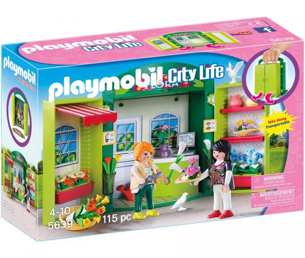 Playmobil 5639 - Blumenladen (Aufklapp-Spiel-Box)
